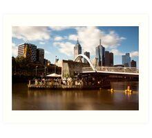 Ponyfish island afternoons - Melbourne Australia Art Print
