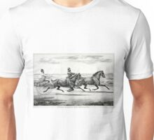 Flora Temple and Princess - 1859 - Currier & Ives Unisex T-Shirt