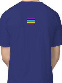 Rainbow Duvet Bedspread Classic T-Shirt