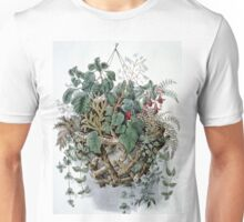 Flora's treasures - 1856 - Currier & Ives Unisex T-Shirt