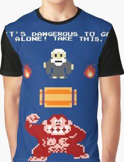 Donkey Kong Zelda Graphic T-Shirt