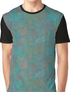 Seamless Flower  Tulip  Pattern. Monochrome background garden Graphic T-Shirt