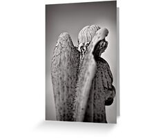 The wings of angels - iconography Greeting Card