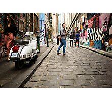 Parting Ways - Melbourne Laneways - Australia Photographic Print