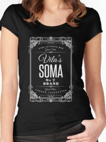 Blake's 7   Vila's Soma Women's Fitted Scoop T-Shirt