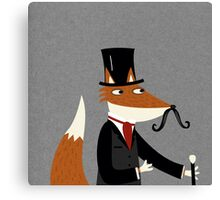 Sir Fox Canvas Print