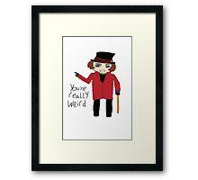 Willy Wonka Chibi Framed Print
