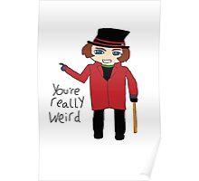 Willy Wonka Chibi Poster