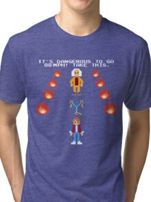 Back To The Zelda Tri-blend T-Shirt