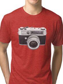 Vintage Camera Yashica Tri-blend T-Shirt
