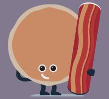 Character Building - Pancake & Bacon Kids Tee