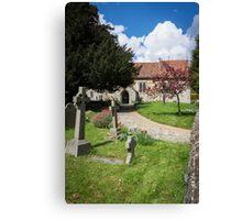 Detling Church, Kent, UK Canvas Print