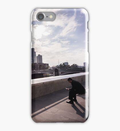 Cubicle lament - Southbank Melbourne iPhone Case/Skin