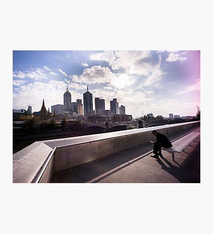 Cubicle lament - Southbank Melbourne Photographic Print