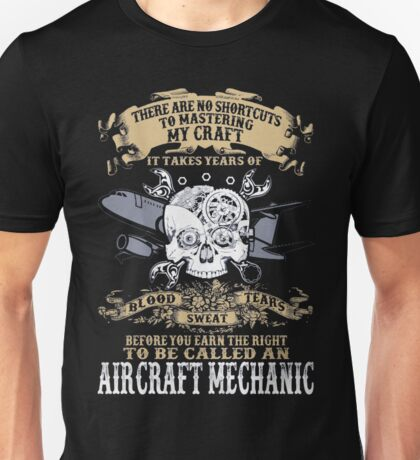 Aircraft Mechanic Unisex T-Shirt