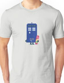 Character Building - Time boarder Unisex T-Shirt