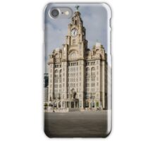 Royal Liver Building, Liverpool iPhone Case/Skin