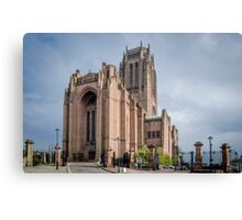 Church of England Cathedral, Liverpool Canvas Print