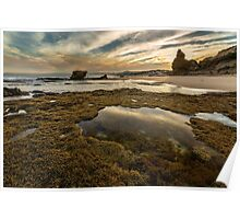 Rock Pools - Split Point Poster