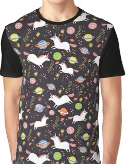Space unicorns Graphic T-Shirt