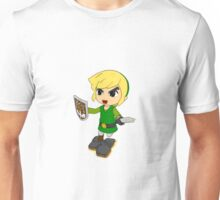 Toon Link on the edge! Unisex T-Shirt