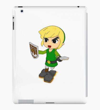 Toon Link on the edge! iPad Case/Skin
