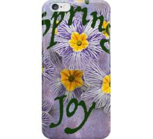 Spring Joy iPhone Case/Skin