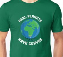 Character Building - Real Planets Have Curves T-Shirt