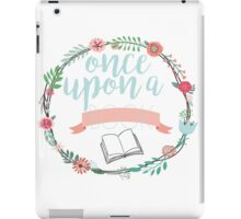 Once upon a book iPad Case/Skin