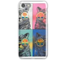 'Kats on Acid' by Christian Asare iPhone Case/Skin