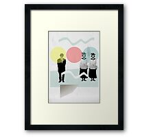 the other woman Framed Print