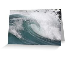 La Perouse Wave Greeting Card