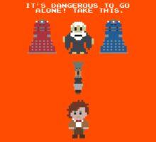 Doctor Who Meets Zelda Kids Tee