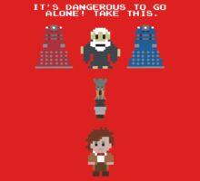 Doctor Who Meets Zelda Baby Tee