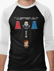 Doctor Who Meets Zelda Men's Baseball ¾ T-Shirt