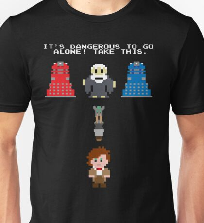 Doctor Who Meets Zelda Unisex T-Shirt