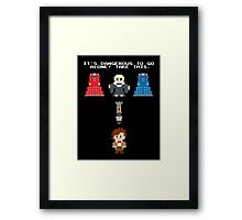 Doctor Who Meets Zelda Framed Print