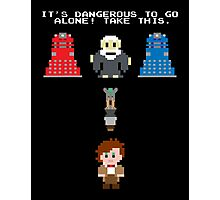 Doctor Who Meets Zelda Photographic Print