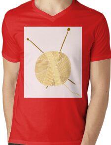 Hand drawn ball of yarn Mens V-Neck T-Shirt
