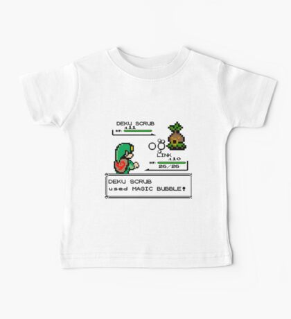 Zelda Pokemon Fight Baby Tee