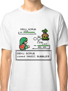 Zelda Pokemon Fight Classic T-Shirt