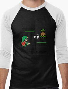 Zelda Pokemon Fight Men's Baseball ¾ T-Shirt