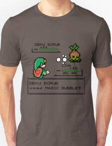 Zelda Pokemon Fight Unisex T-Shirt