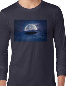 flying whale Long Sleeve T-Shirt