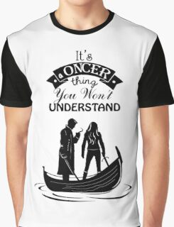 Captain Swan. Oncer Thing! Graphic T-Shirt