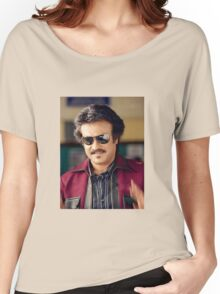 Rajinikanth (Anna)  has won six Tamil Nadu State Film Awards—four Best Actor Awards  Women's Relaxed Fit T-Shirt