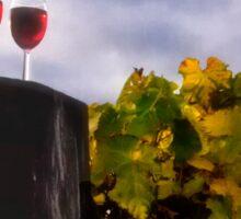 Wine and the Vine Sticker