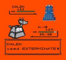 Doctor Who Pokemon Battle Kids Tee