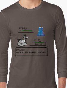 Doctor Who Pokemon Battle Long Sleeve T-Shirt