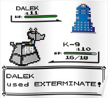 Doctor Who Pokemon Battle Poster